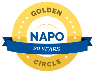 Judith Ann Kirk Professional Organizer Productivity Coach member of NAPO Golden Circle for over 20 years