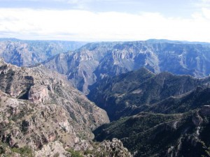 Copper Canyon in Mexico (Spanish: Barranca del Cobre) is a group of canyons larger and deeper than the Grand Canyon in the United States.