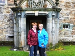 Visiting ancestral home in Scotland