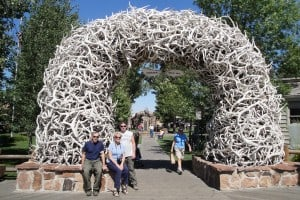 Antler Arches in Jackson