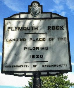 Pilgrim landing place at Cape Cod