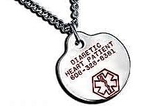 Medical jewelry important information for first responders
