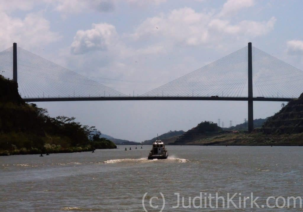 Centennial Bridge crossing over the Panama Canal